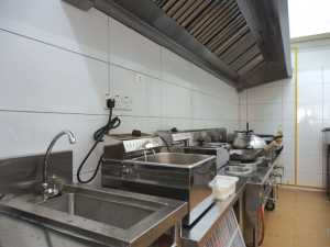 SUMO'S new kitchen at Cyberjaya just before completion.