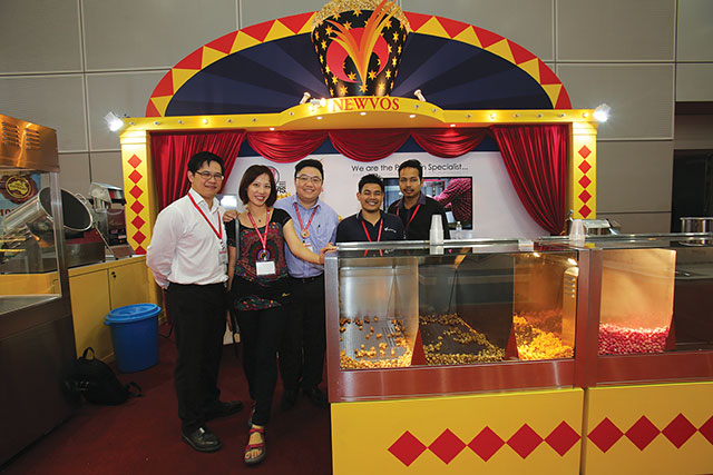 The Newvos team at FoodHotelMalaysia 2013