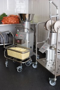 HALLDE Vegetable preparation machine RG-400