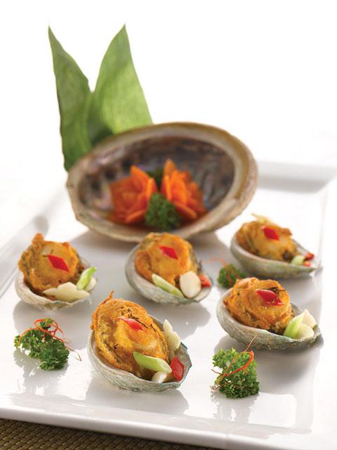 Pan fried abalone Shunde style