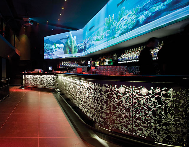 The Sasazu Club area