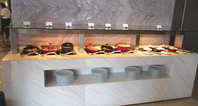 Hold-Line keeps the buffet line warm at Ethiad Tower Rosewater Restaurant