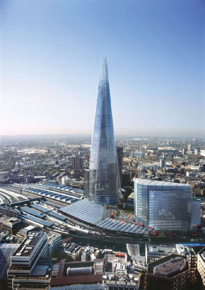 Building of The Shard, Oblix Restaurant