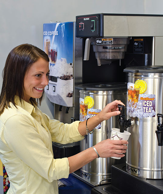 Coffee and tea dispensing solutions